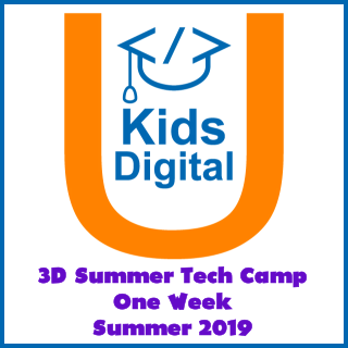 3D Summer Tech Camp: One Week Summer 2019